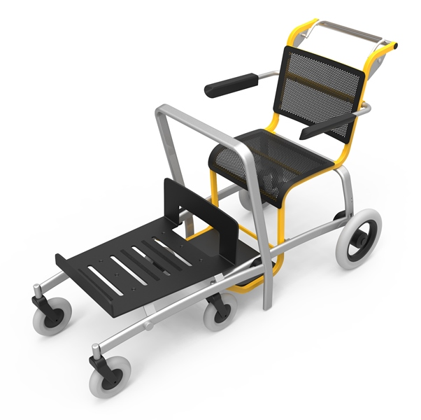 Luggage-Mobby  (luggage trolley) with fixations