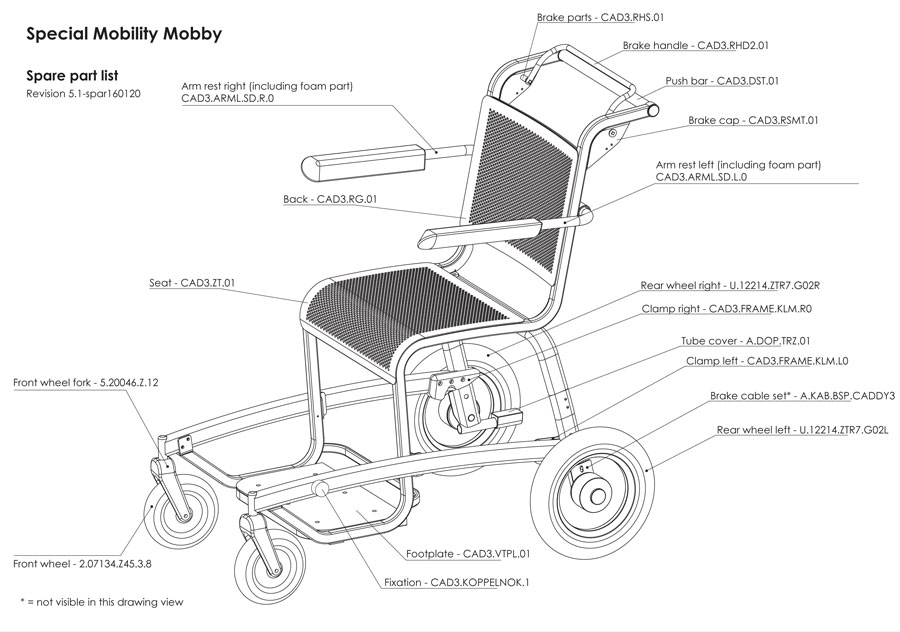 Mobby spare parts
